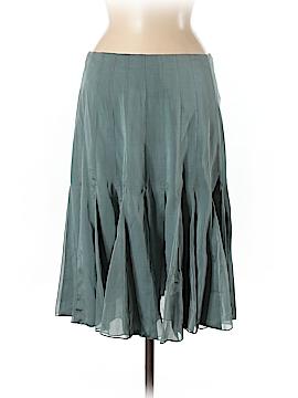 Carmen Marc Valvo Silk Skirt Size 8