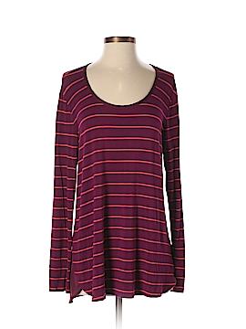 Bordeaux Long Sleeve Top Size S