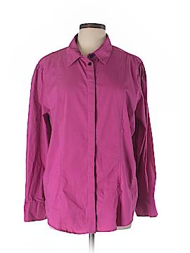 Ashley Stewart Long Sleeve Button-Down Shirt Size 18 (Plus)