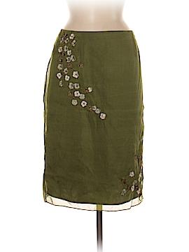 INC International Concepts Silk Skirt Size 8