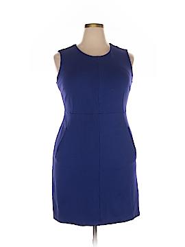 Lands' End Casual Dress Size 16 (Petite)