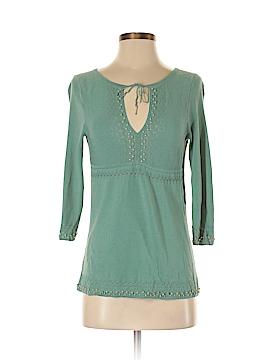 Emma James 3/4 Sleeve Silk Top Size S