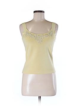 Lafayette 148 New York Sleeveless Silk Top Size M (Petite)