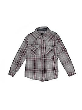 Lucky Brand Long Sleeve Button-Down Shirt Size 4T
