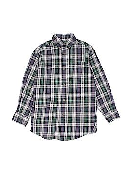Class Club Long Sleeve Button-Down Shirt Size 7