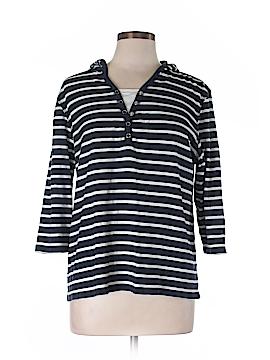 Karen Scott Sport 3/4 Sleeve Henley Size XL