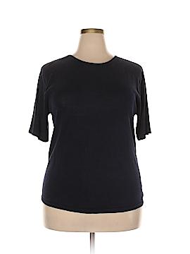 August Silk Silk Pullover Sweater Size 1X (Plus)