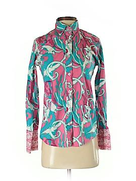 Tizzie Long Sleeve Button-Down Shirt Size XS
