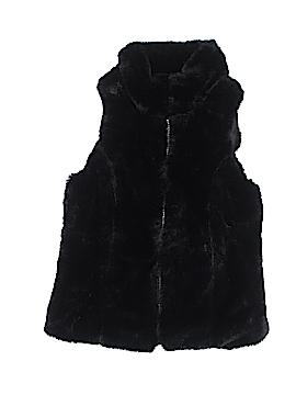 Me Jane Faux Fur Vest Size 7