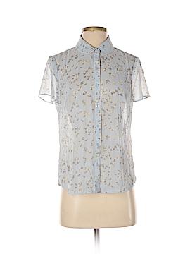Ann Taylor LOFT Outlet Short Sleeve Button-Down Shirt Size S (Petite)