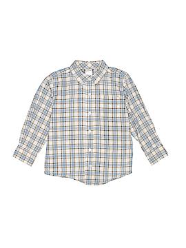 Gymboree Long Sleeve Button-Down Shirt Size 4T
