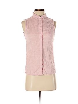 Jach's Girlfriend Sleeveless Button-Down Shirt Size XS
