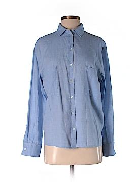 IRO Long Sleeve Button-Down Shirt Size 36 (FR)