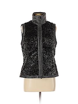 600 West Faux Fur Vest Size M