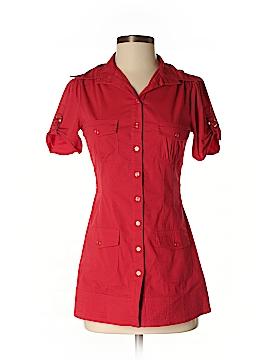 Le Chateau Short Sleeve Button-Down Shirt Size XXS