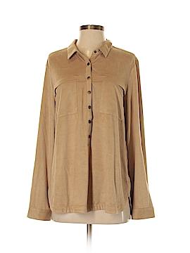 Reitmans Long Sleeve Button-Down Shirt Size L