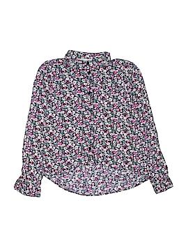 H&M Long Sleeve Button-Down Shirt Size 10-11