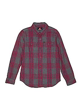 Quiksilver Long Sleeve Button-Down Shirt Size 12