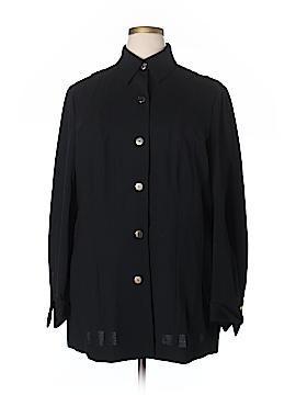Linda Allard Ellen Tracy Long Sleeve Blouse Size 20 (Plus)