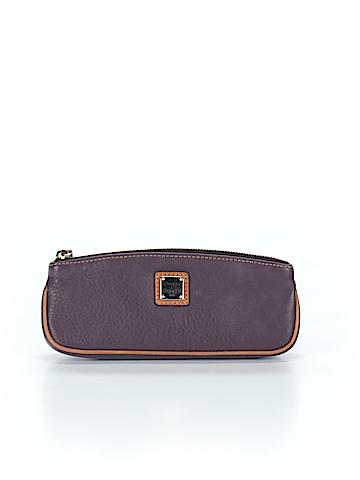 Dooney & Bourke Leather Clutch One Size