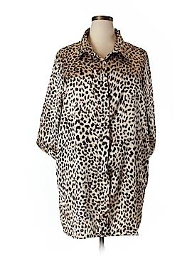 Boohoo Boutique 3/4 Sleeve Blouse Size 20 (Plus)