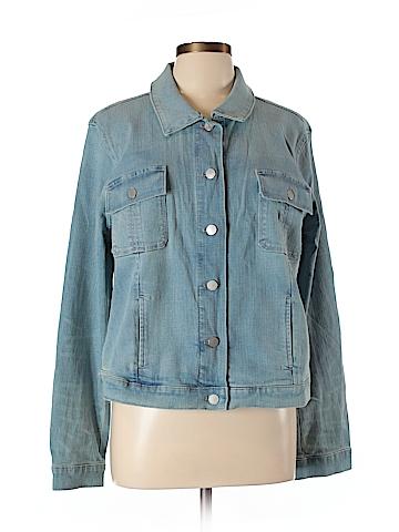 Ann Taylor Factory Denim Jacket Size XL