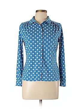 Boden Long Sleeve Button-Down Shirt Size 8 (Petite)