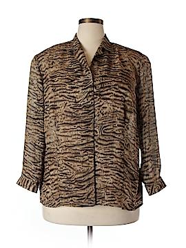 Elisabeth by Liz Claiborne Long Sleeve Blouse Size 20 (Plus)