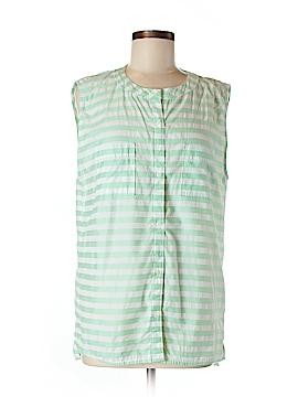 Gap Sleeveless Button-Down Shirt Size M (Tall)
