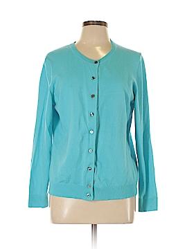 Karen Scott Sport Cardigan Size L