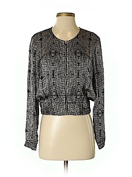 Club Monaco Long Sleeve Silk Top Size S
