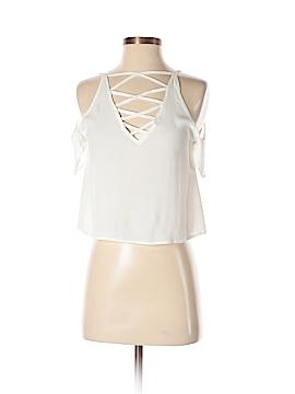 Mink Pink Short Sleeve Blouse Size XS