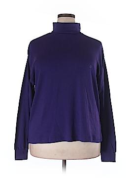 Karen Scott II Turtleneck Sweater Size 1X (Plus)