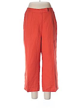 Jessica London Linen Pants Size 14