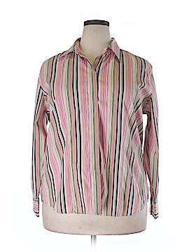 DCC Long Sleeve Blouse Size 1X (Plus)
