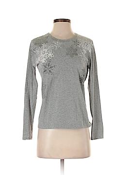 Kate Hill Long Sleeve T-Shirt Size M (Petite)