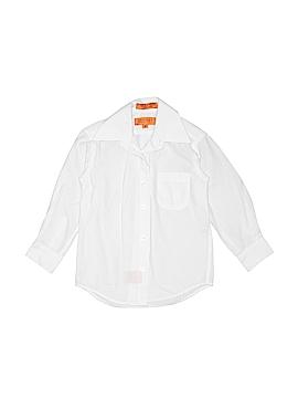 Bergamo New York Long Sleeve Button-Down Shirt Size 4T