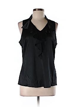 White House Black Market Sleeveless Silk Top Size L
