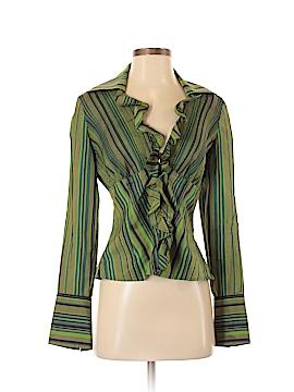 Kay Unger Long Sleeve Blouse Size 4