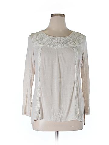 Princess Vera Wang 3/4 Sleeve Top Size XL