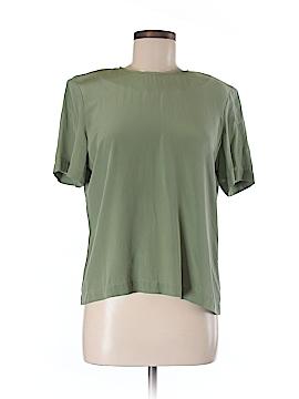 Kasper & Company ASL Short Sleeve Silk Top Size 10
