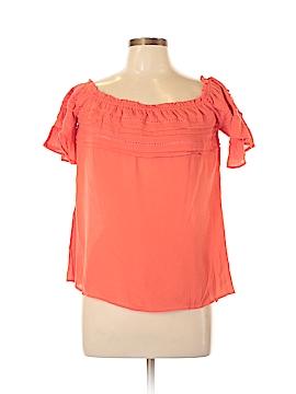 Entro Short Sleeve Blouse Size L