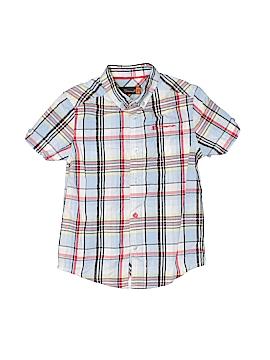 Ben Sherman Short Sleeve Button-Down Shirt Size 3 - 4