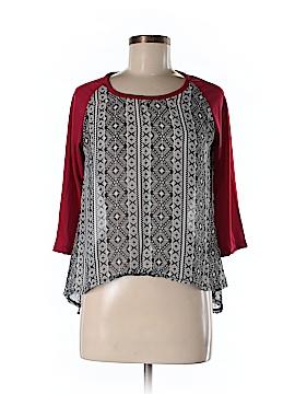 Hype 3/4 Sleeve Blouse Size M