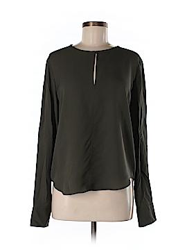 Steven Alan Long Sleeve Silk Top Size M
