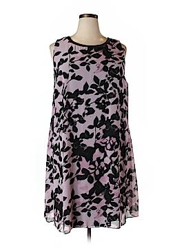 S.L. Fashions Casual Dress Size 24W (Plus)