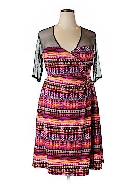 Kiyonna Casual Dress Size 2X (Plus)