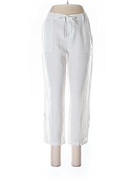 Blue Saks Fifth Avenue Linen Pants Size M