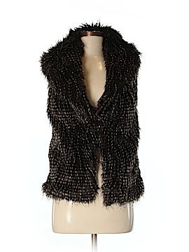Moda International Faux Fur Vest Size XS