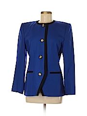 Le Suit Women Wool Blazer Size 8